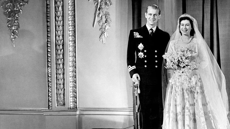 Princess Elizabeth and Philip Mountbatten